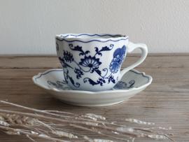Blue Danube Koffie Kop- en schotel 7,5 cm