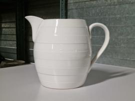 Societe Ceramique wit Bandenkan ruim 4 liter, de nr. 00