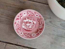 Tea Drinker rood Societe Ceramique Ontbijtbordje 20 cm
