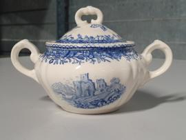 Burgenland blauw Suikerpotje (klein model)