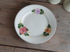 Apart Boerenbont Societe Ceramique decor Kamperfoelie Plat Dinerbord 25 cm