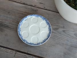 Boerenhoeve SC blauw Onderbord voor eierdopjes