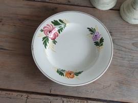 Apart Boerenbont Societe Ceramique decor Kamperfoelie Diep Soep Pasta Bord 25 cm