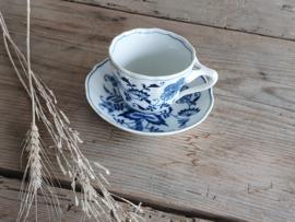 Blue Danube Koffie Kop- en schotel 8,5 cm