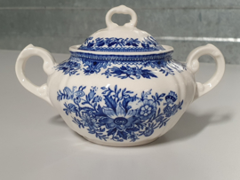 Villeroy en Boch Fasan blauw Suikerpot (gewone model)