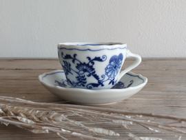 Blue Danube Espresso Kop- en schotel 6,5 cm