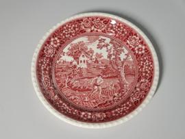 Rusticana rood Pannenkoekenbord 32 cm