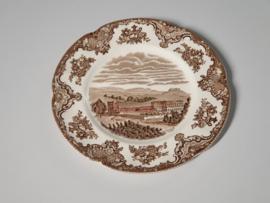 Engels Bruin Old Britain Castles Ontbijtbordje 19 cm