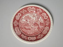 Rusticana rood Ontbijtbordje 20,5 cm