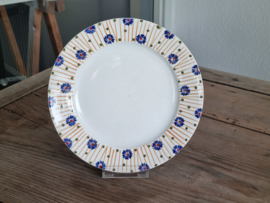 Societe Ceramique Schrijfnamendecor Laren Ontbijtbordje 20 cm