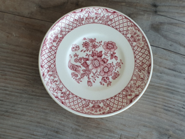 Engels rood Mason Stratford losse Schotel voor Koffiekopje 14,5 cm