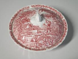 Engels rood The Hunter by Myott Dekschaal Terrine