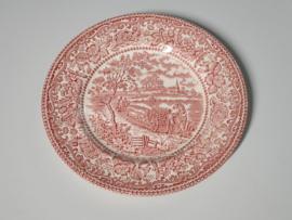 Engels rood English Tableware Ontbijtbordje 19,5 cm