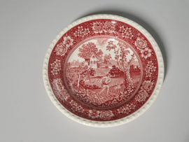 Rusticana rood Diep Soep Pasta Bord 23 cm