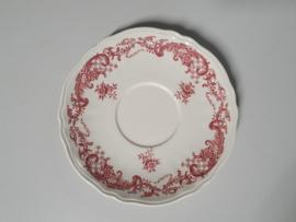 Valeria rood losse Schotel voor Soepkom 16,5 cm