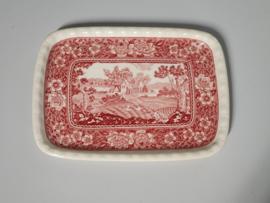 Rusticana rood Beleg Serveerschaaltje 19,5 cm