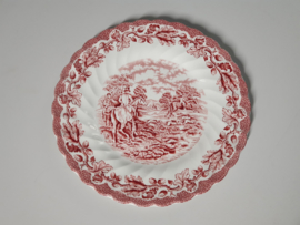 Engels rood  Myott's Country Life Ontbijtbordje 20 cm