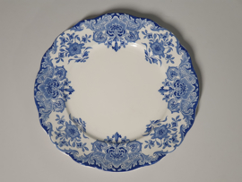 Boch BFK decor Dordrecht blauw Diner Bord 25 cm