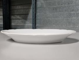 Societe Ceramique wit Wellington Serveerschaal ovaal 30 cm