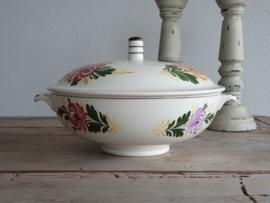 Apart Boerenbont Societe Ceramique decor Kamperfoelie Dekschaal Terrine