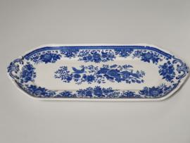 Villeroy en Boch Fasan blauw Serveerschaal rechthoek 32,5 cm