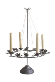 JDL Advent wreath on stand