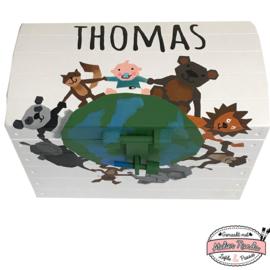 Speelgoedkist Thomas