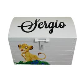 Speelgoedkist Sergio