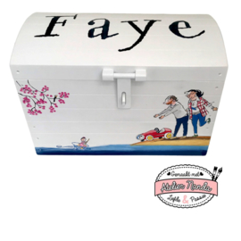 Speelgoedkist Faye