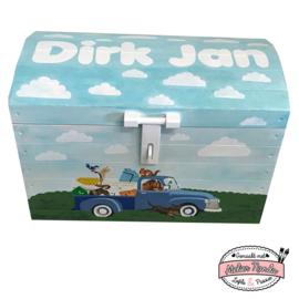 Speelgoedkist Dirk Jan