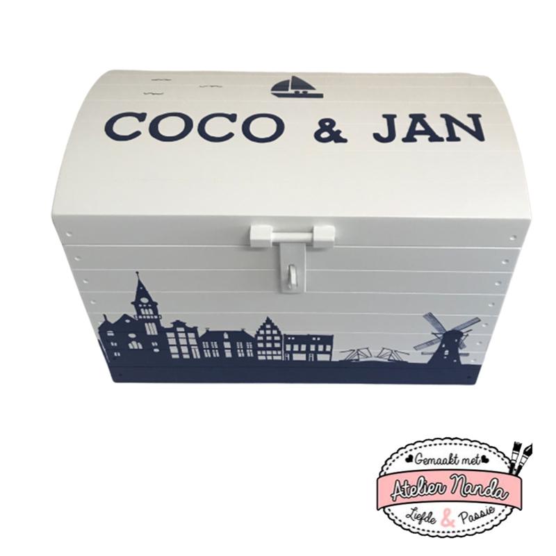Speelgoedkist Coco en Jan