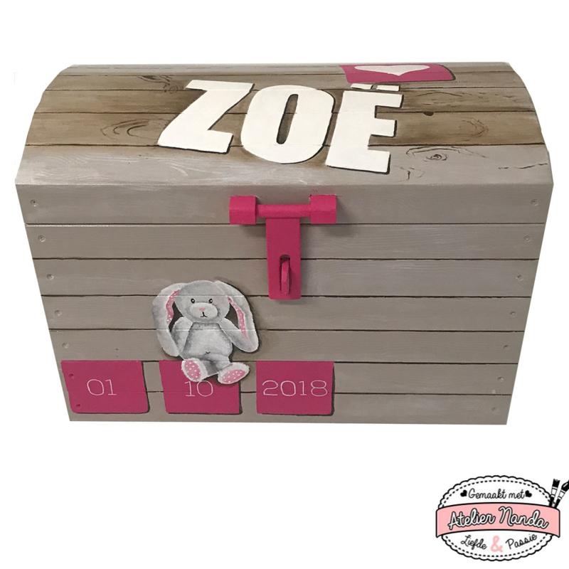 Speelgoedkist voor Zoe