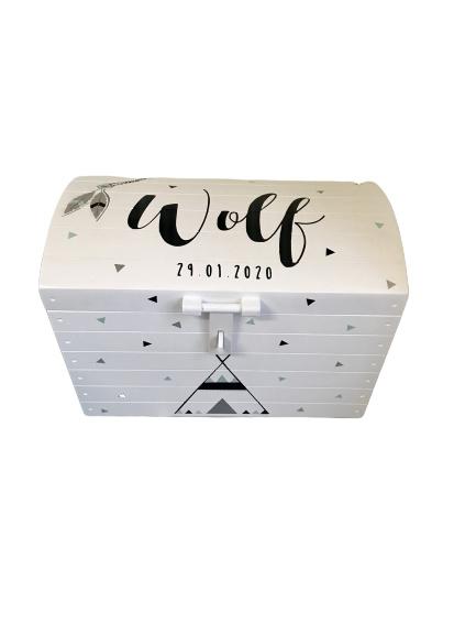 Speelgoedkist Wolf