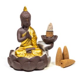 Backflow wierookbrander Buddha
