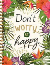 Don't worry be happy notiteboek