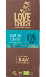 Love Chock - Sweet nibs & Sea salt