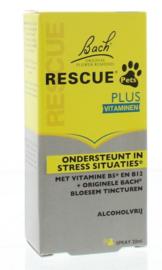 PETS Bach  Rescue PLUS remedie - spray - 20 ml