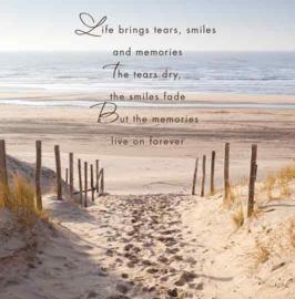 Life brings tears...