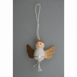 Gelukspoppetje Engel met vleugels