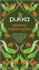 Ginseng Matcha Green - Pukka thee