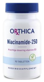 Vitamine B3 niacinamide 250 - 90 tabletten