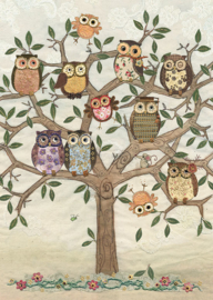 A003 Owl Family Tree - BugArt