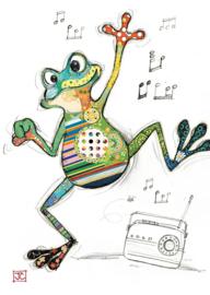G009 Freddy Frog - BugArt