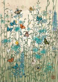D082 Garden Butterflies - BugArt