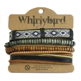 Whirly bird Armband - S49