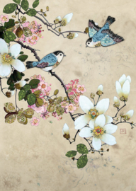 D155 Magnolia Birds - BugArt