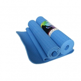 Yoga mat - Yoga Styles  TPE Comfort Blauw