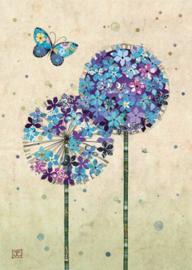 D173 Butterfly Aliums - BugArt