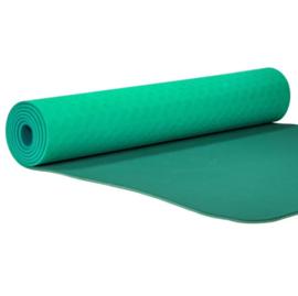 Yoga mat - Yogi & Yogini Premium TPE Turquoise