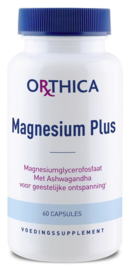 Magnesium plus - 60 capsules
